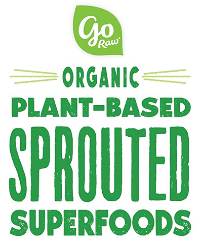 Go Raw Sprouted Organic Seeds Vegan Keto Gluten-Free Superfood Snacks