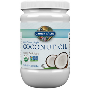 Garden of Life Organic Coconut Oil Extra Virgin Unrefined Cold Pressed