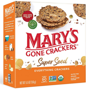 Marys Gone Crackers Super Seed Organic Gluten Free Plant Based Protein