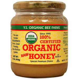 YS Bee Farms Organic Raw HOney 16oz