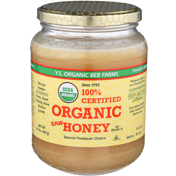 YS Organic Bee Farms Raw Honey 32oz