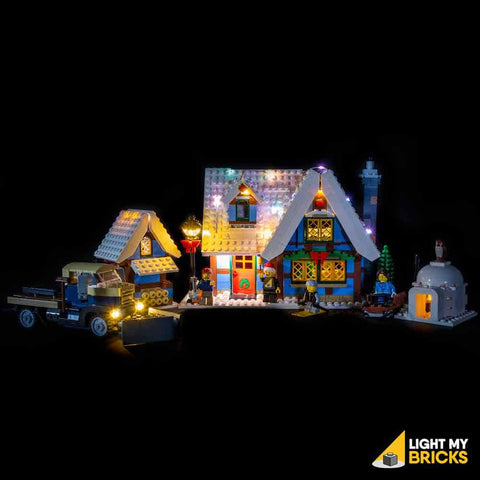 Winter Village Cottage Light Kit