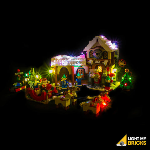 Santa's Workshop Light Kit