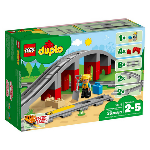 LEGO® DUPLO® Train Bridge and Tracks 10872