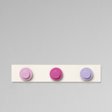 LEGO® Wall Hanger Rack - Pink, Purple, Violet