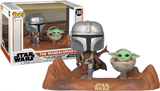 Star Wars: The Mandalorian - Mandalorian & Child Movie Moment Pop! Vinyl #390