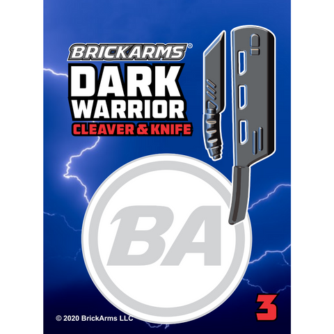 BA Dark Warrior 3 - Cleaver & Knife Pack