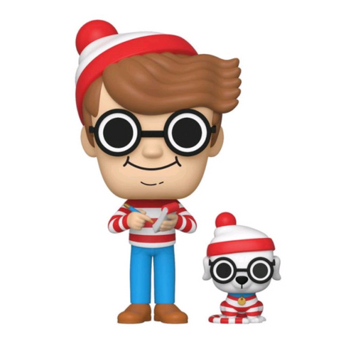 Where's Waldo - Waldo & Woof US Exclusive Pop! Vinyl #25