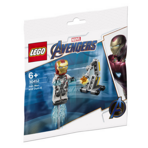 LEGO® Iron Man and Dum-E 30452 Polybag