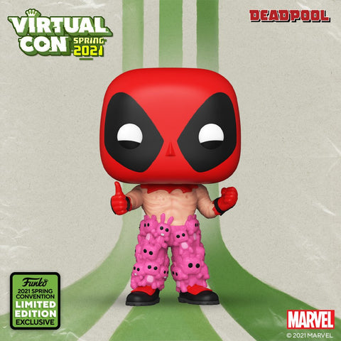Deadpool - Deadpool with Teddy Bear Pants Pop! Vinyl #754