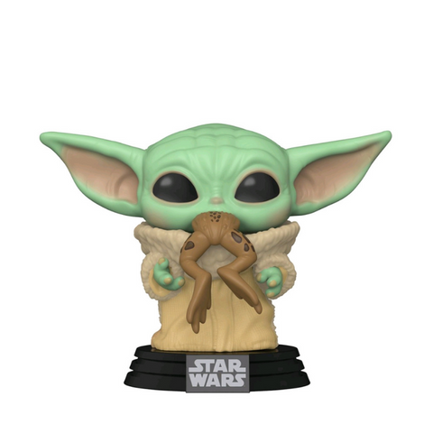 Star Wars: The Mandalorian - The Child with Frog Pop! Vinyl #379