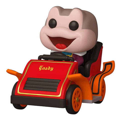 The Adventures of Ichabod and Mr. Toad - Mr. Toad with Car Disneyland 65th Anniversary Pop! Rides Vinyl Figure #89