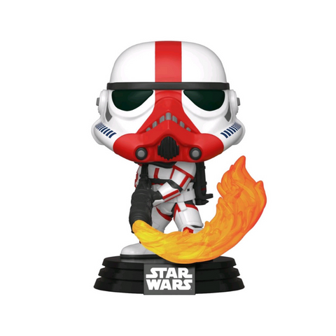 Star Wars: The Mandalorian - Incinerator Stormtrooper Pop! Vinyl #350