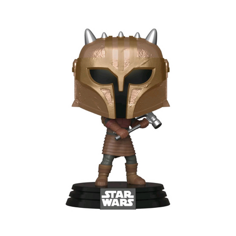 Star Wars: The Mandalorian - The Armorer Metallic Pop! Vinyl #353