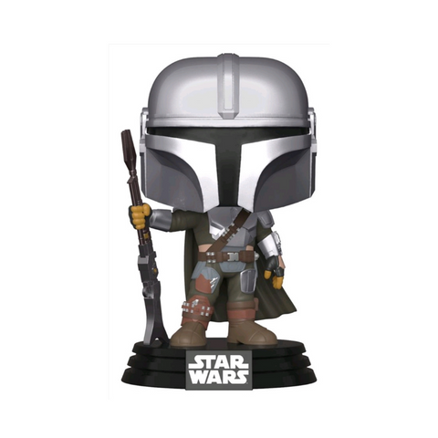Star Wars: The Mandalorian - Mandalorian Pose Metallic Pop! Vinyl #345