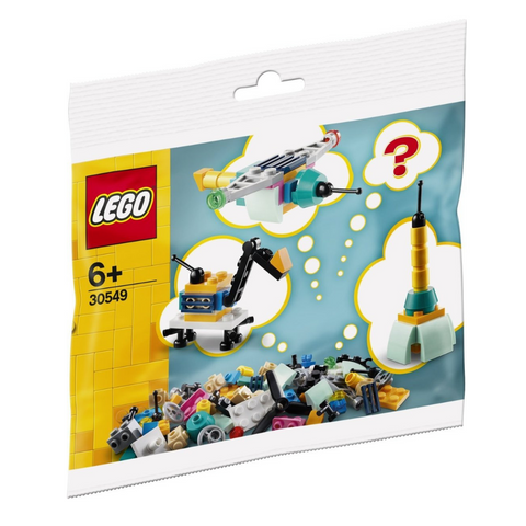 Build Your Own Vehicles - Make It Yours 30549 Polybag