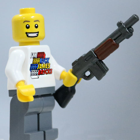 BrickArms M27 IAR RELOADED for Lego Minifigures NEW Overmolded Rifle