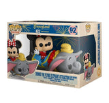 Disneyland: 65th Anniversary - Minnie Mouse with Dumbo The Flying Elephant Attraction Pop! Rides Vinyl Figure #92