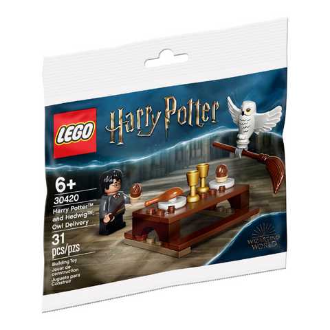 LEGO® Harry Potter™ and Hedwig™: Owl Delivery 30420