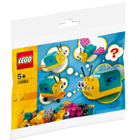 LEGO® Build Your Own Snail With Superpowers 30563 Polybag