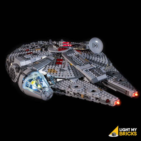 Millennium Falcon 75257 Light Kit