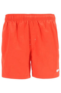 Calvin Klein Mens Orange Drawstring Swim Shorts