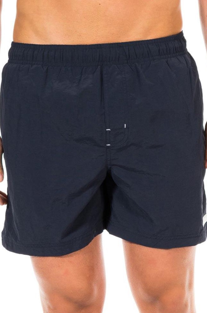 Calvin Klein Mens Black Drawstring Swim Shorts