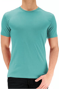 Calvin Klein Mens Core Crew Neck T-Shirt Ocean Breeze