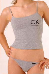 Calvin Klein Womens Camisole and Bikini Gift Set