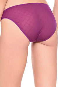Calvin Klein Seductive Comfort Illusion Bikini Brief Winter Violet