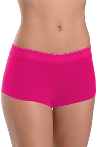 Calvin Klein Womens Soft Cotton Boy Shorts