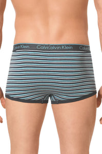 Calvin Klein Mens Low Rise Trunk OBrien Stripe