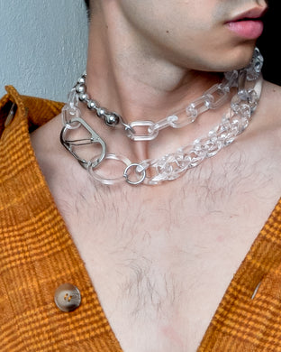 TRES (CHOKER) - COLOR: ICE