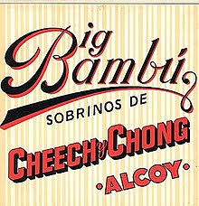 CHEECH AND CHONG - BIG BAMBU VINYL ALBUM VGC