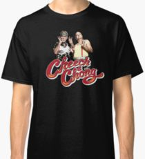ICONIC CHEECH AND CHONG CLASSIC BLACK MENS T-SHIRT