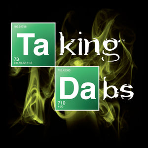 TAKING DABS BLACK MEN'S T-SHIRT BY ERBIVORE