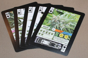 EXCLUSIVE CANNABIS TRADING CARDS SET 2 of 2 - OG DECK First release in Australia