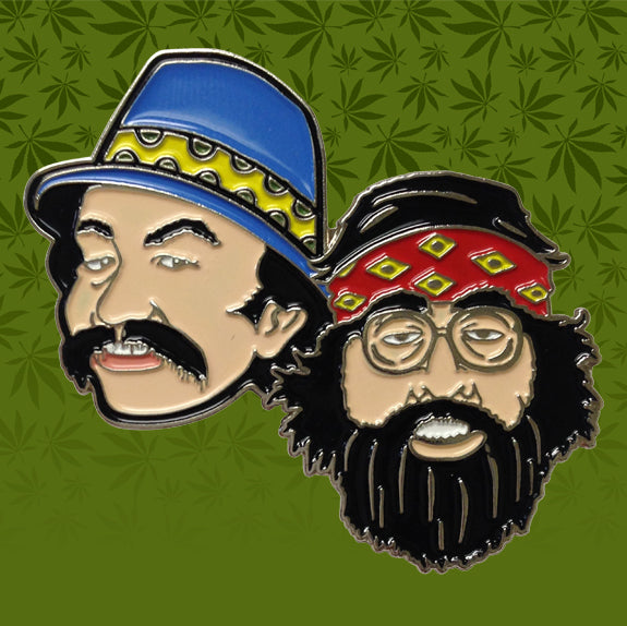 CHEECH AND CHONG ICON HAT PIN