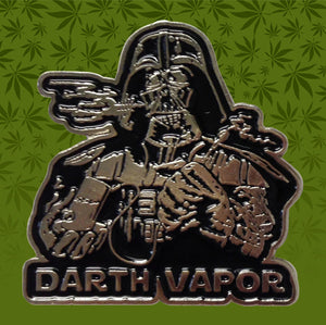 DARTH VAPOUR HAT PIN