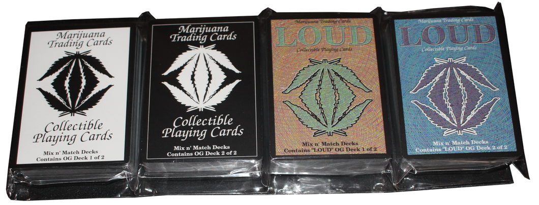 EXCLUSIVE CANNABIS TRADING CARD SET 2 OF 2 - OG LOUD 2 OF 2 First release in Australia