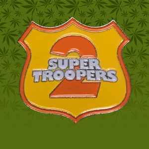 SUPER TROOPERS ICON BADGE LICENSED HAT PIN