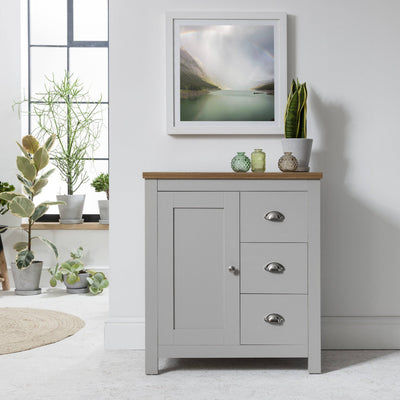 Bampton Sideboard 1 Door Grey