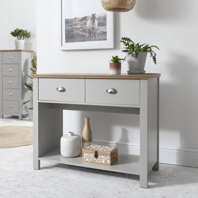 Bampton Console Table - Grey