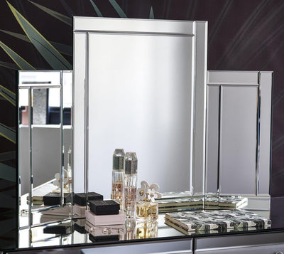 Aleanor Tri fold Vanity Mirror for Dressing Table - Laura James