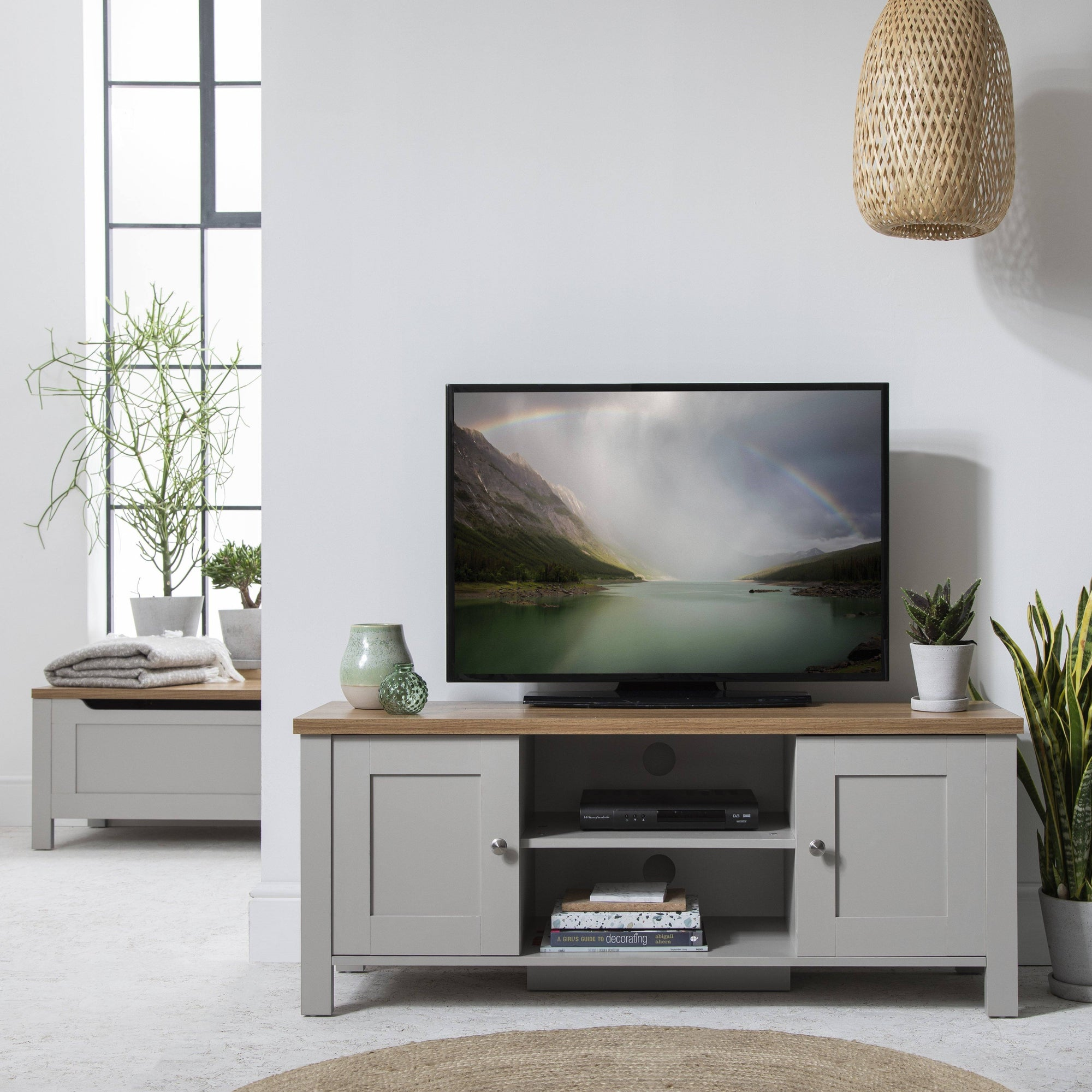 Bampton Grey TV Unit
