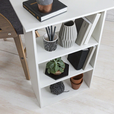 White Computer Desk with Drawers - PRE-ORDER - IN STOCK – 23 - 24 September - Laura James