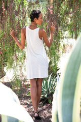 High-Low Cream Tank