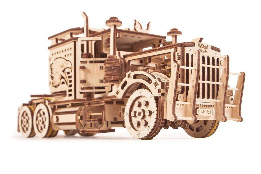 Wood Trick Big Rig Semi Truck