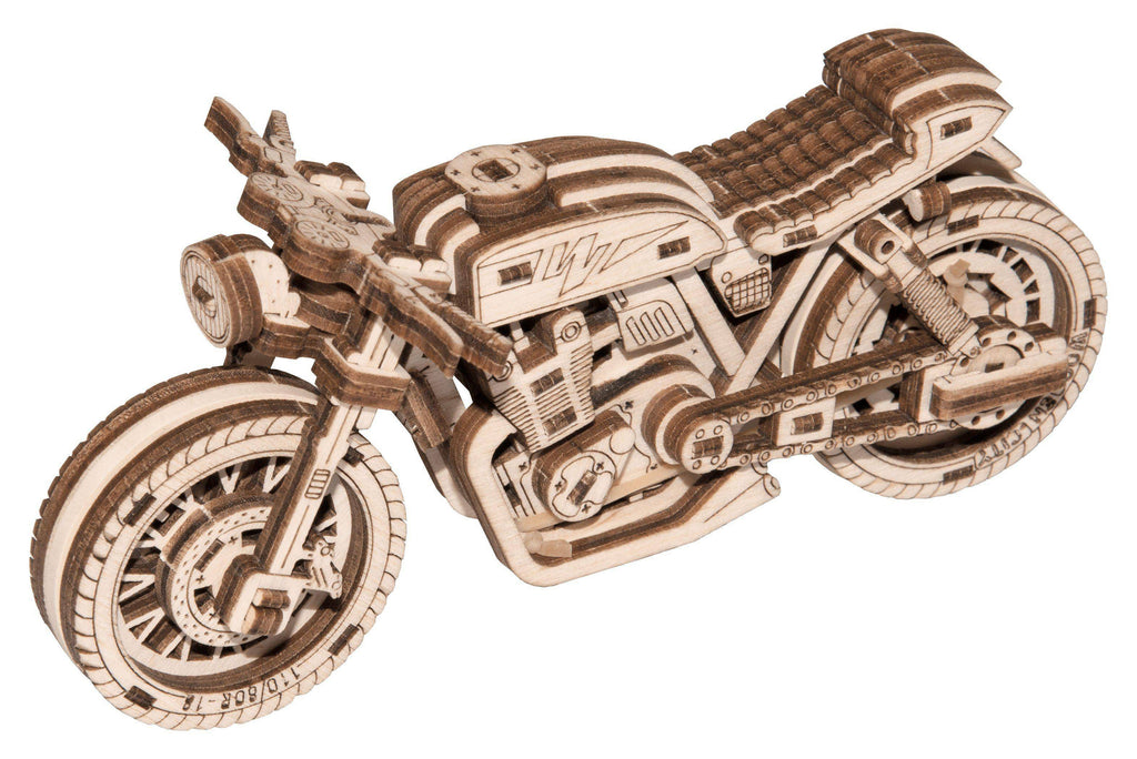 Wooden City Cafe Racer Motorcycle