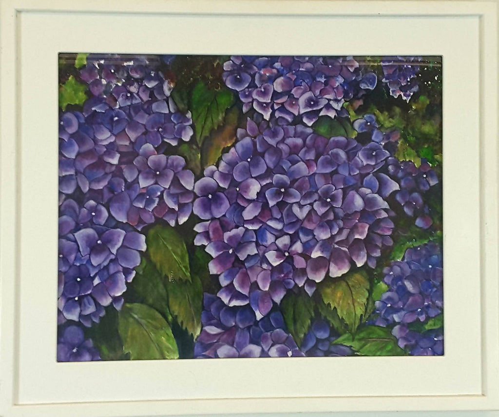 Hydrangeas - watercolor